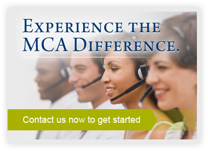 Experience The MCA Difference